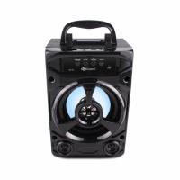 Тонколона Kisonli KK-02, Bluetooth, USB, SD, FM, Черен